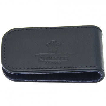 Ettinger Men's Magnetic Money Clip, Navy