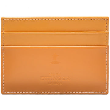 Ettinger Bridle Hide Flat Credit Card Case, London Tan