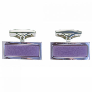 Ettinger Men's Cufflink Rectangular, Purple