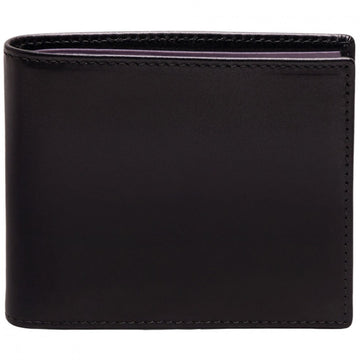 Ettinger Men's Sterling Billfold Wallet with 6 Credit Card Slips - Purple