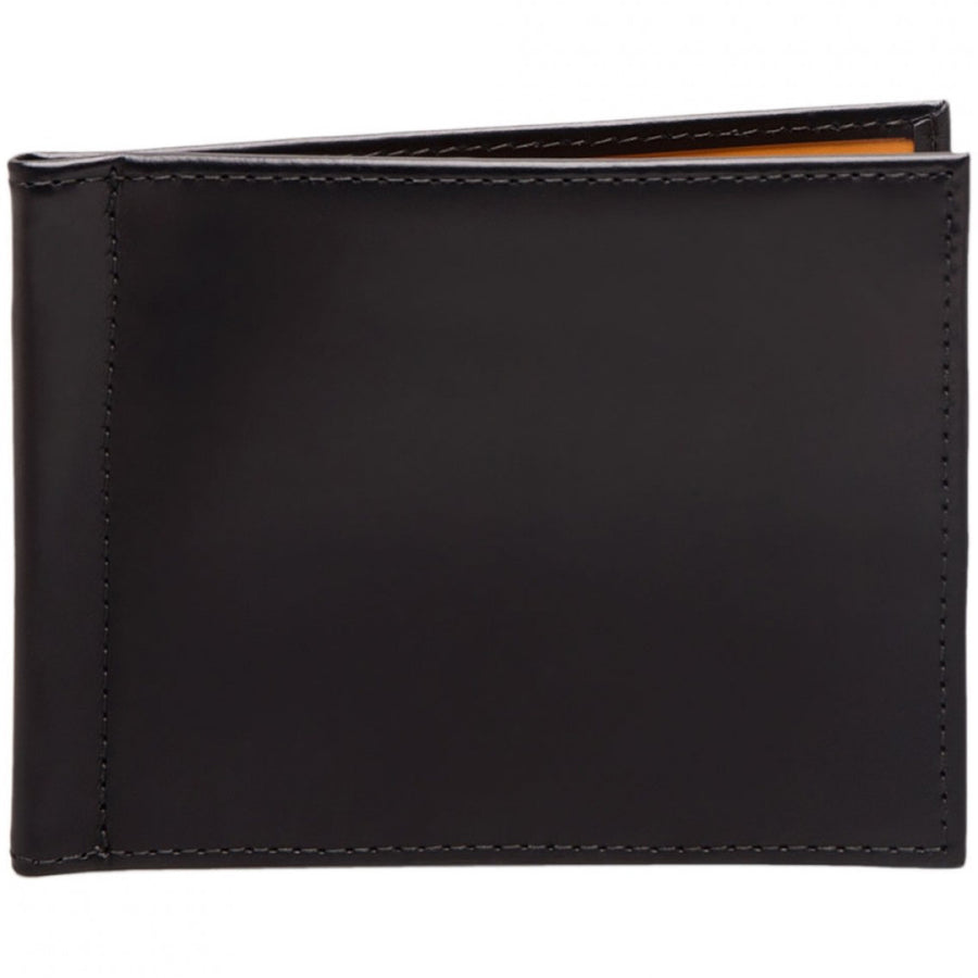 Ettinger Bridle Hide Money Clip Wallet, Black