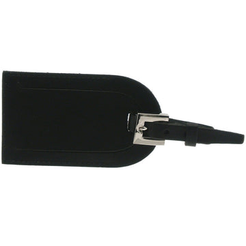 Ettinger Lifestyle Collection Luggage Tag with Flap, Black