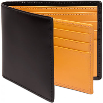 Ettinger Bridle Hide Collection Men's wallet with 12 Credit Card Slots, Black