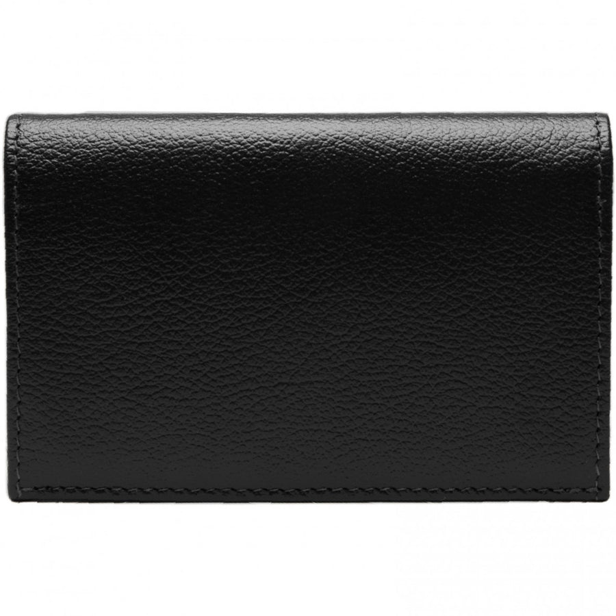 Ettinger Capra Visiting Card Case, Black