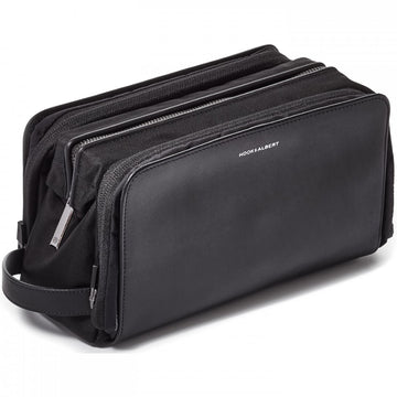 Hook and Albert Dopp Kit Black Leather