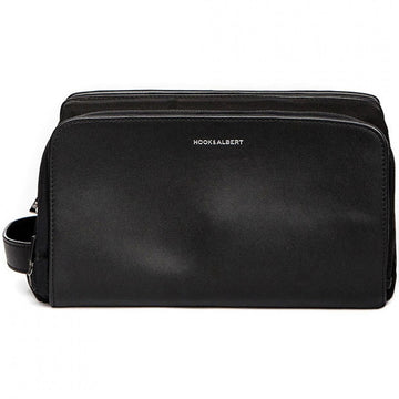 Hook and Albert Dopp Kit, Leather, Black