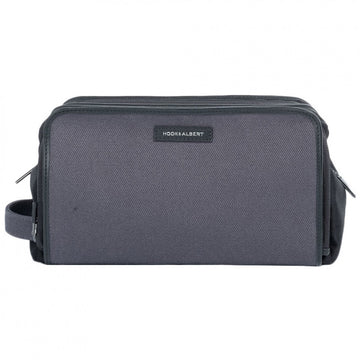 Hook and Albert GEN2 Gray Twill Canvas Dopp Kit