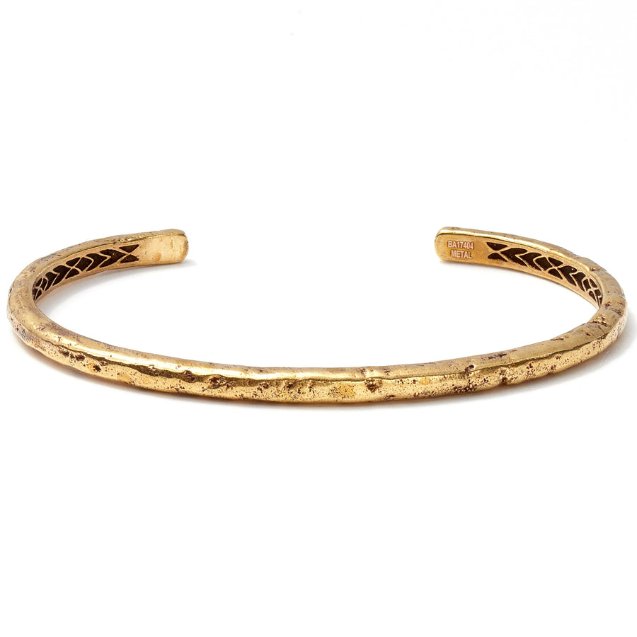 John Varvatos Brass Distressed Cuff