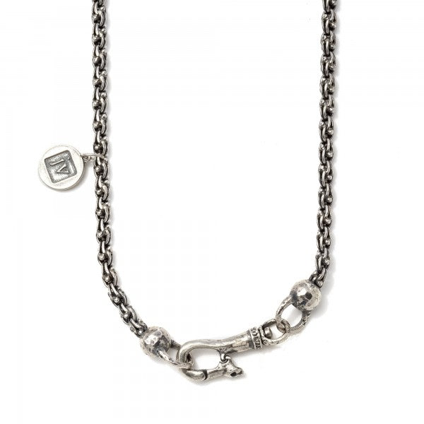 John Varvatos Silver Dagger Necklace