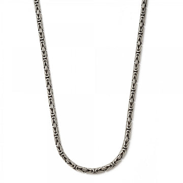 John Varvatos Silver Chain Necklace