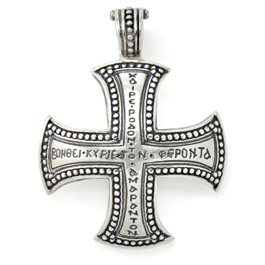 Konstantino Men's Silver Dare Cross