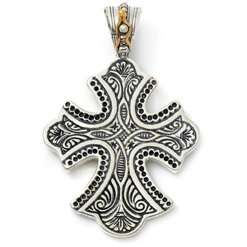 Konstantino Women's Sterling Silver Cross Pendant