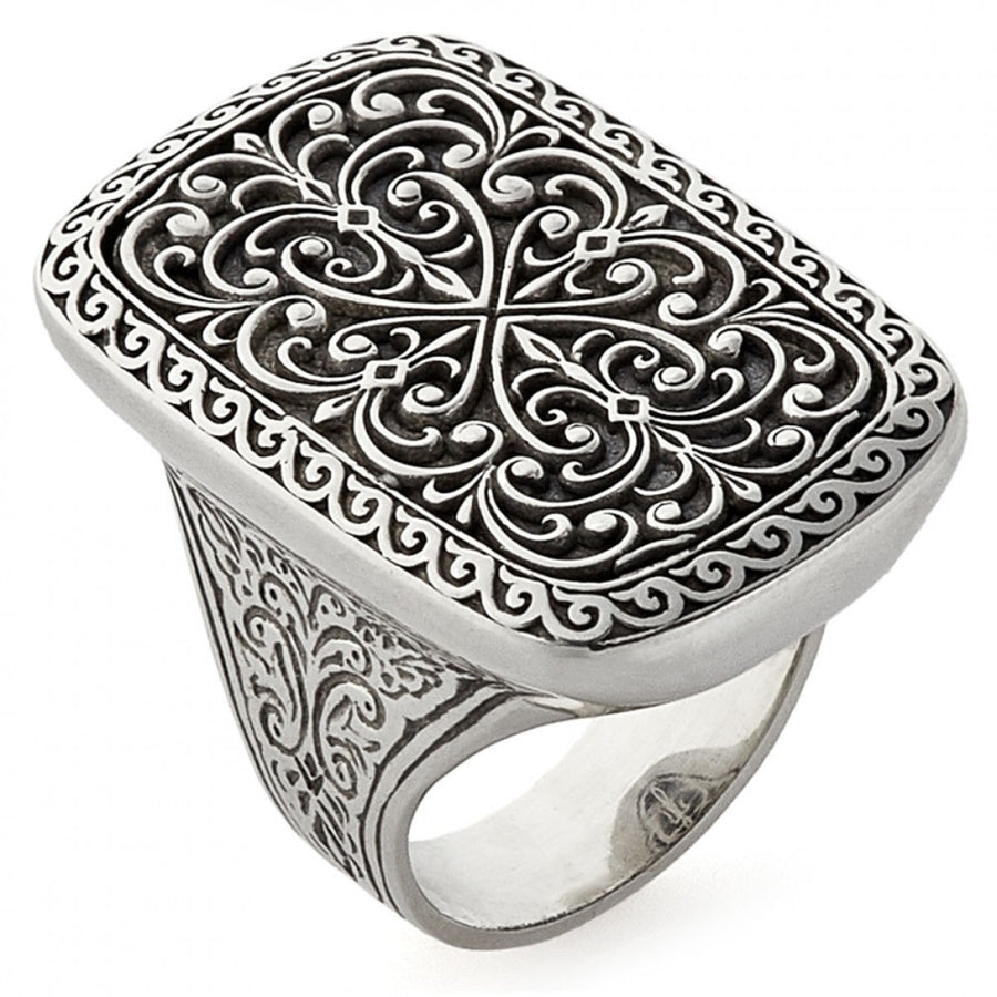 Konstantino Women's Classic Filigree Sterling Silver Ring