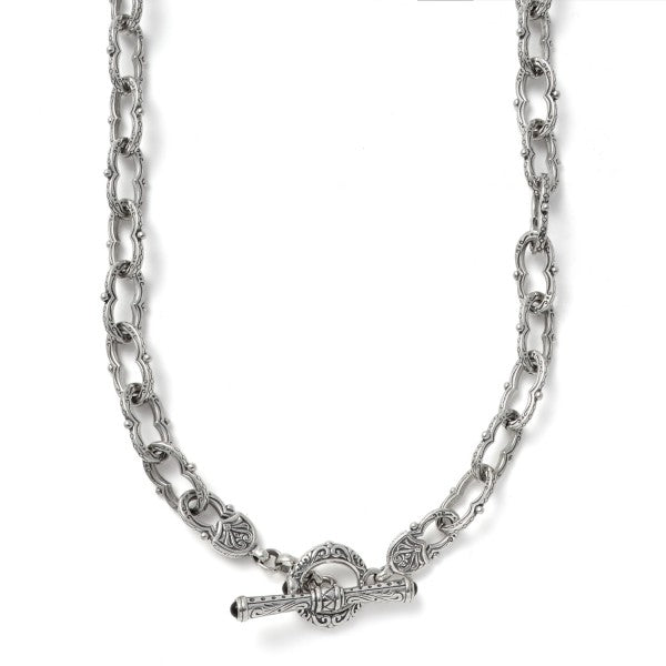Konstantino Women's Sterling Silver Link Necklace