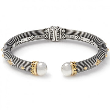 Konstantino Women's Hinged Bracelet, 6.5 IN
