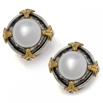 Konstantino Women's Sterling Silver & 18K Gold Pearl Earrings