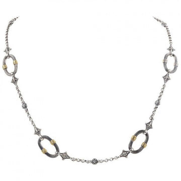 Konstantino Women's Sterling Silver & 18K Gold Necklace