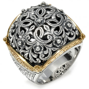 Konstantino Women's Sterling Silver & 18k Gold Ring