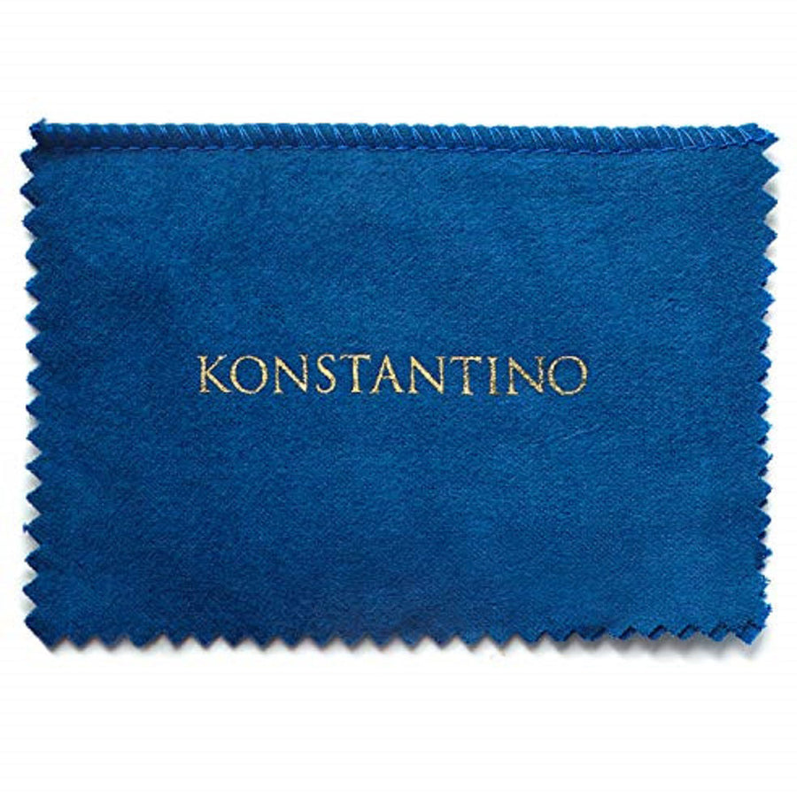 Konstantino Men's Sterling Silver & 18k Gold Oval Cufflinks