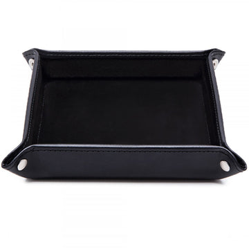 Ettinger Lifestyle Collection Black Leather Trey
