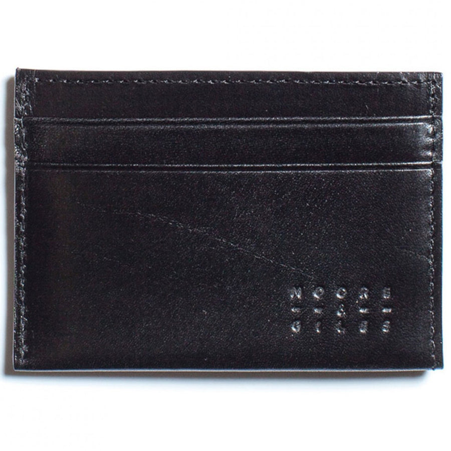 Moore and Giles Leather License Wallet, Brompton Black