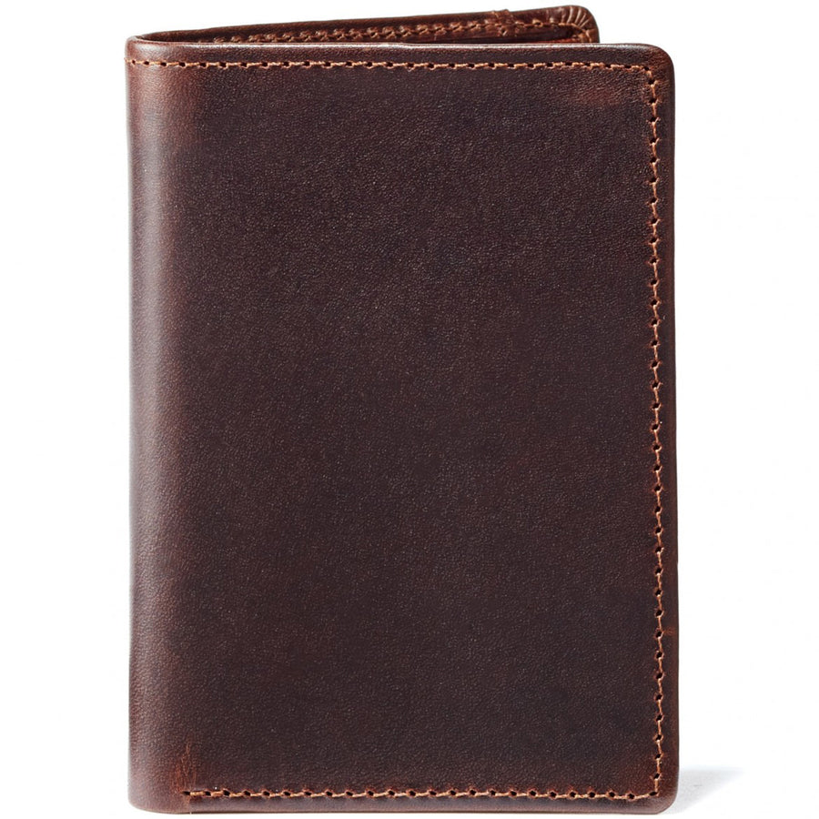Moore and Giles Men's Wallet Brompton Brown Leather