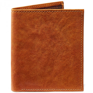 Moore and Giles Compact Wallet Modern Saddle Leather