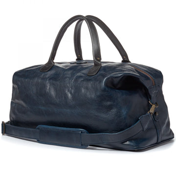 Moore and Giles Benedict Weekend Bag in Titan Milled Navy