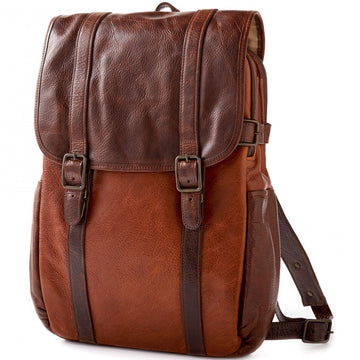 Moore & Giles Crews Backpack in Titan Milled Honey