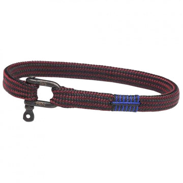 Pig and Hen Men's Vicious Vic Bordeaux Rope Bracelet, Bordeaux