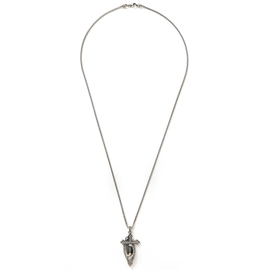 Scott Kay Men's Sterling Silver Cross Pendant,
