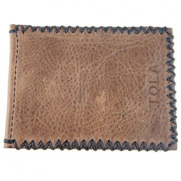 Tola Stanley Leather Card Holder, Brown and Black - upscaleman.myshopify.com