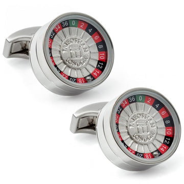 Tateossian Roulette Wheel Cufflinks