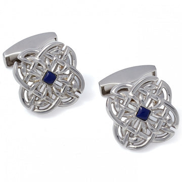 Tateossian Celtic Cufflinks, Silver
