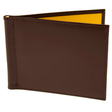 Ettinger Men's Sterling Money Clip Wallet - Nut/Black.