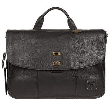 Will Leather Goods Kent Messenger, Black