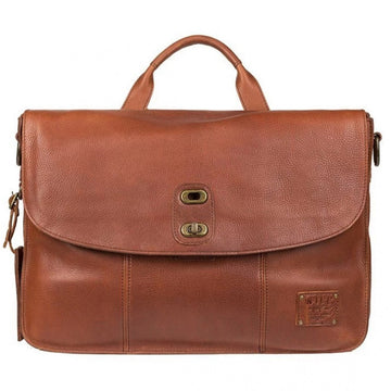 Will Leather Goods Kent Messenger, Cognac