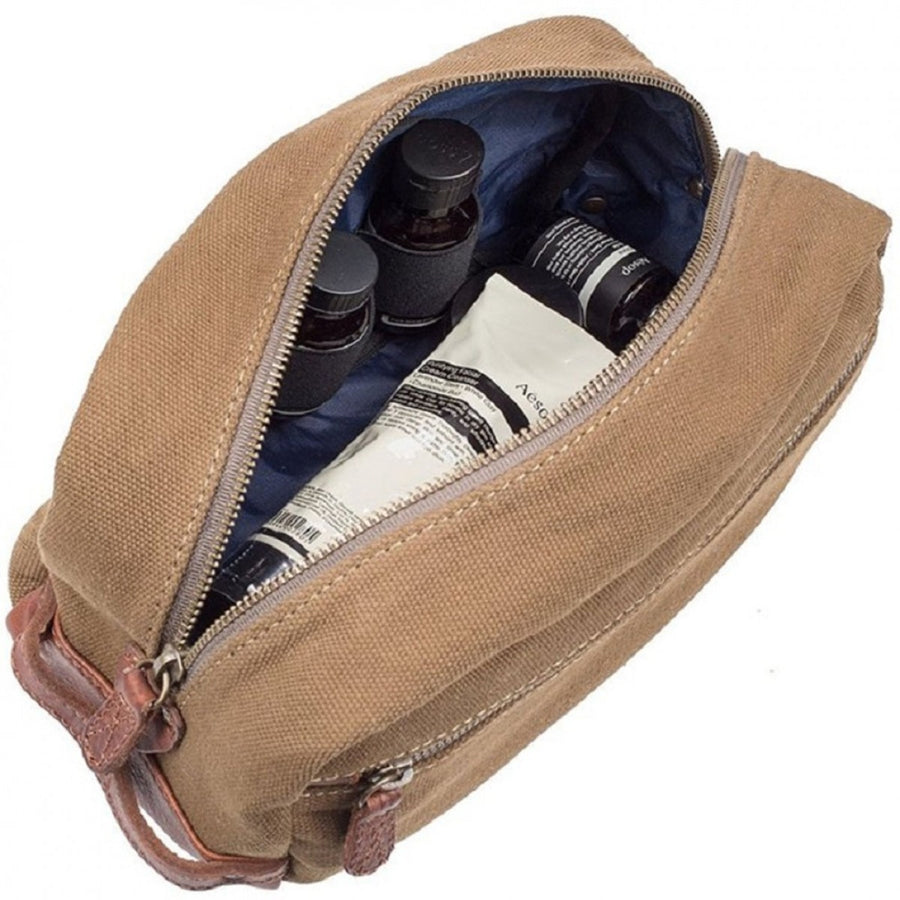 Will Leather Goods Grady Travel Kit, Tobacco/Saddle