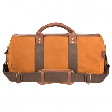 Will Leather Goods Signature Atticus Suede Duffle Bag