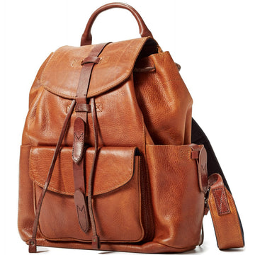 Will Leather Goods The Journey Collection Rainier Backpack Bridle Leather, Tan