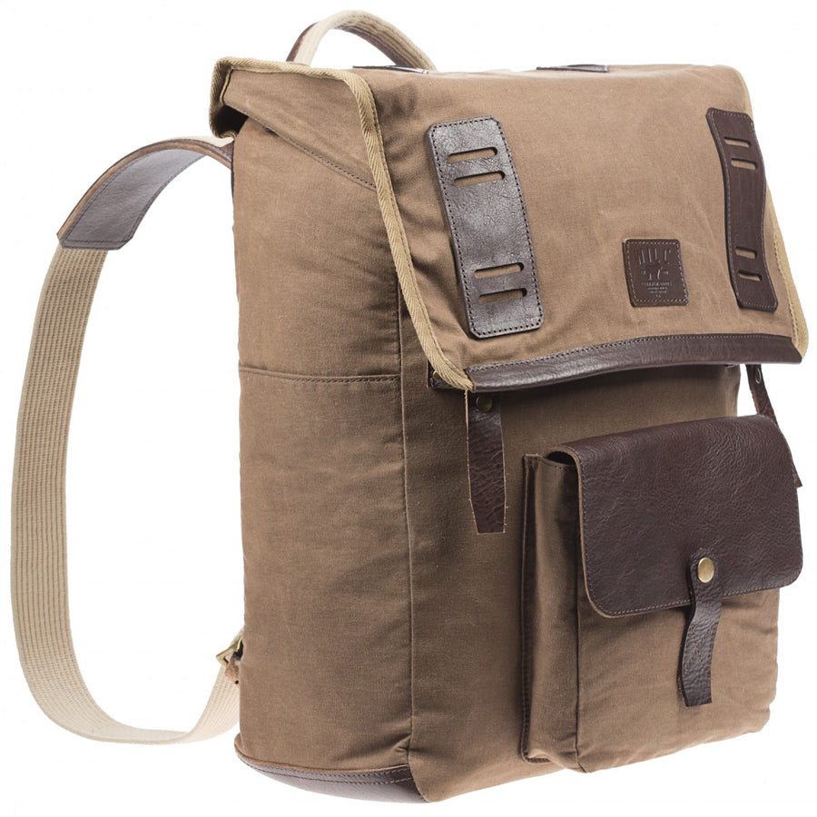 Will Leather Goods Timberline Rucksack Canvas and Leather