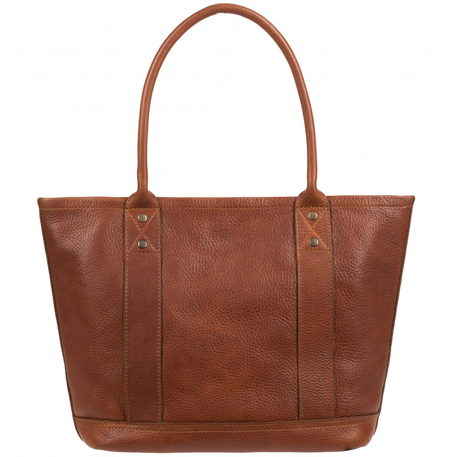 Will Leather Goods Signature Leather Everyday Tote, Cognac