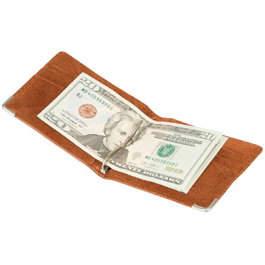 Will Leather Goods The Industrial Billfold Wallet with Money Clip