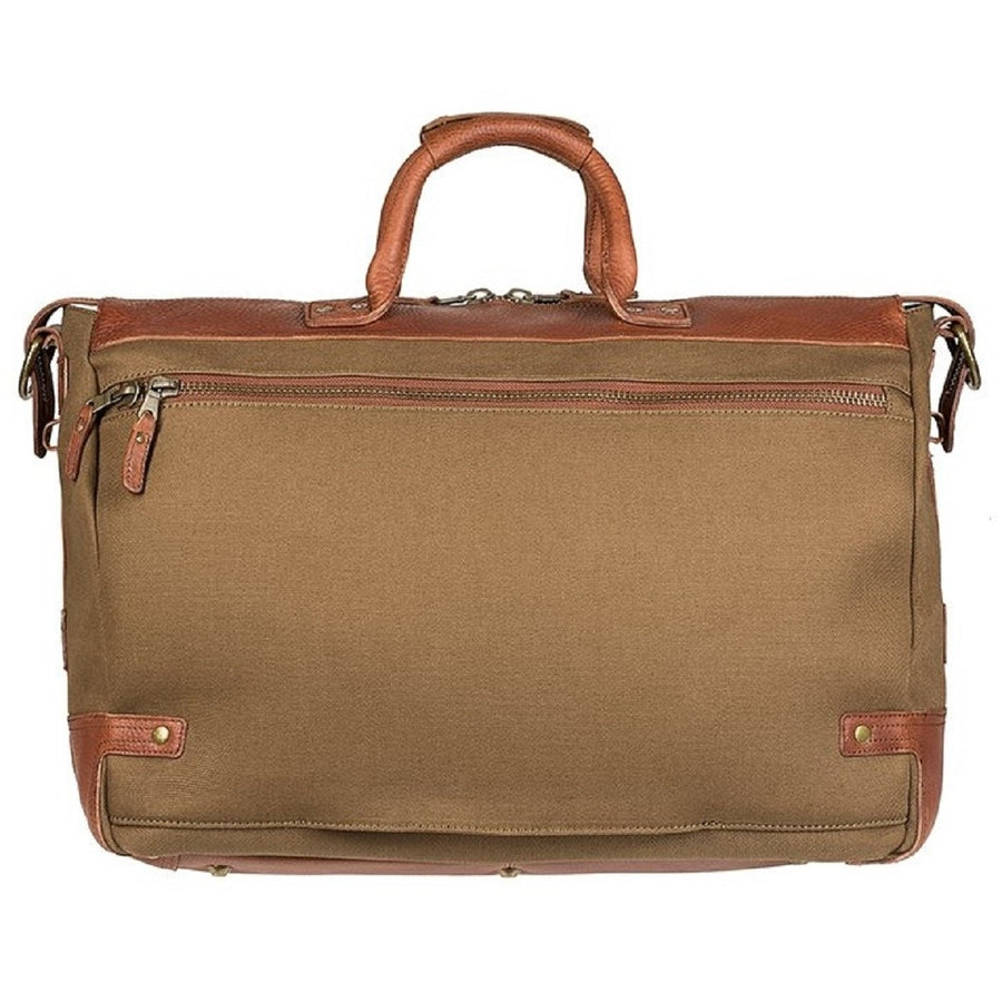 Will Leather Goods Men's Traveler Designer Duffle Bag , Tobacco