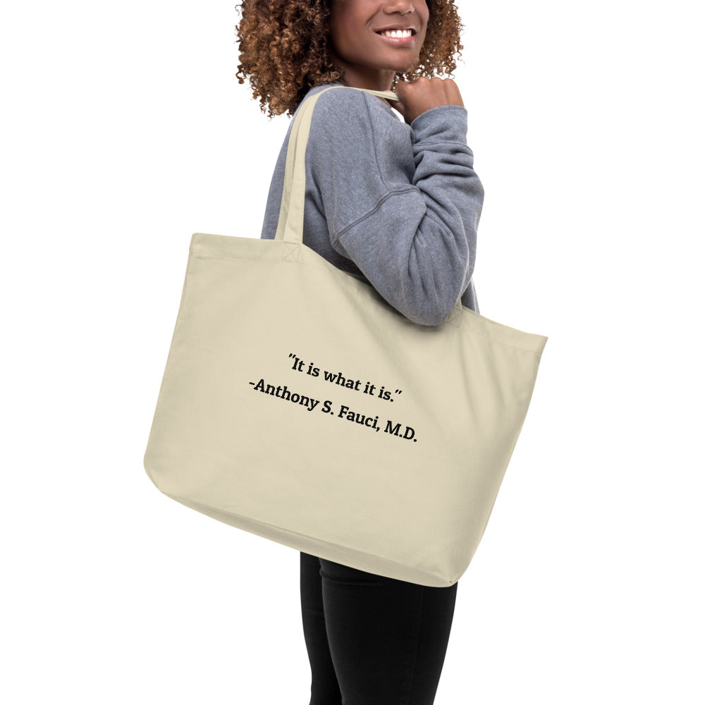 'Hang with Fauci' Tote Bag