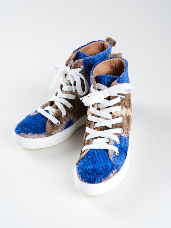 SILK VELVET HIGH TOPS