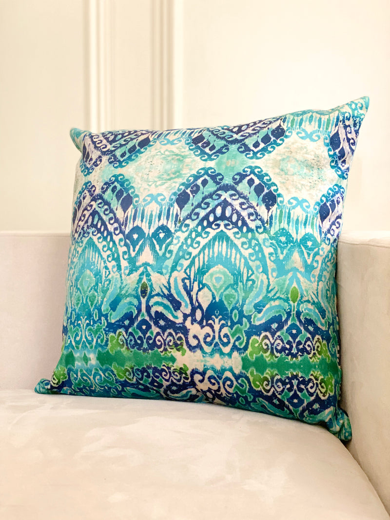 VALENCIA SQUARE PILLOW COVER.