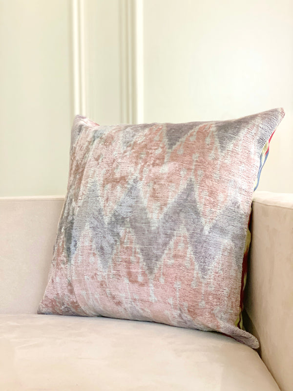 BORDEAUX SQUARE PILLOW COVER