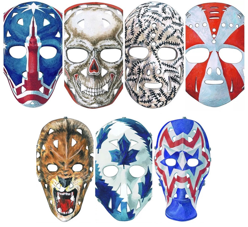 The Magnificent Seven Goalie mask product collection