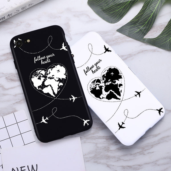Travel Silicone Phone Case